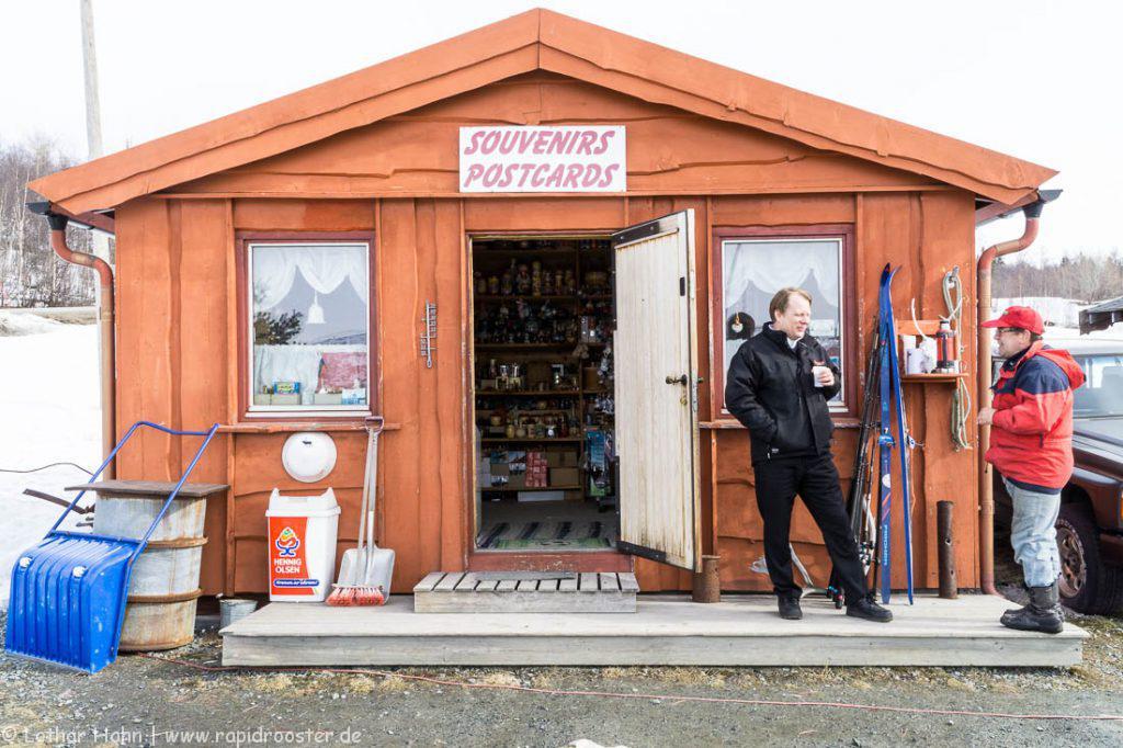 Der letzte Kiosk vor Russland